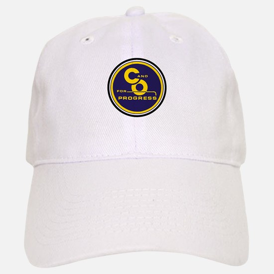 C & O for progress sign Baseball Baseball Cap