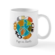 Pigs on Earth Small Mug