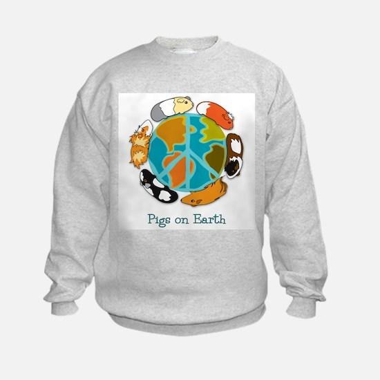 Pigs on Earth Sweatshirt