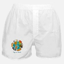Pigs on Earth Boxer Shorts