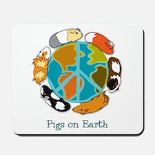 Pigs on Earth Mousepad