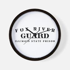 Guard - Fox River Wall Clock