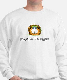 Power to the Piggies Sweatshirt