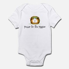 Power to the Piggies Infant Bodysuit