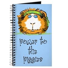 Power to the piggies (blue) Journal