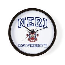 NERI University Wall Clock