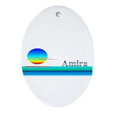 Amira Oval Ornament