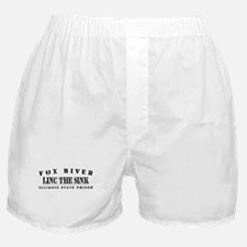 Linc the Sinc - Fox River Boxer Shorts