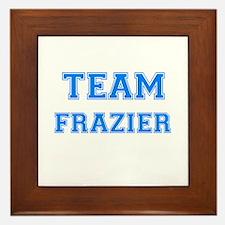TEAM FRAZIER Framed Tile