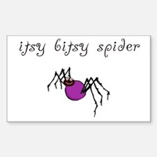 Itsy Bitsy Spider Decal