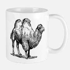 Bactrian camel sketch Mugs