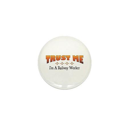 Trust Railway Worker Mini Button (100 pack)
