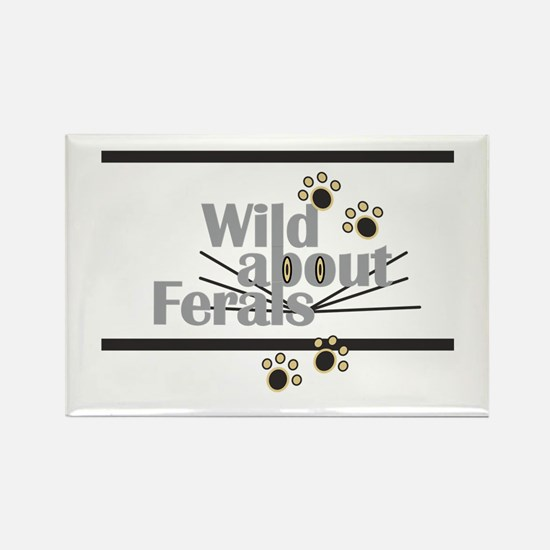Wild About Feral Cats Magnets