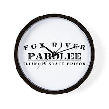 Parolee - Fox River Wall Clock