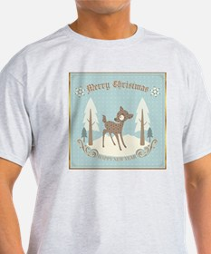 Cute Christmas Deer T-Shirt