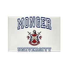 MONGER University Rectangle Magnet