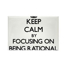 Keep Calm by focusing on Being Rational Magnets