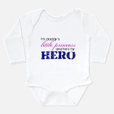Cute Coast guard family Long Sleeve Infant Bodysuit