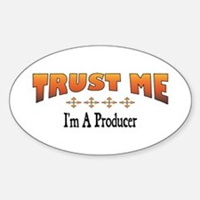 Trust Producer Oval Decal