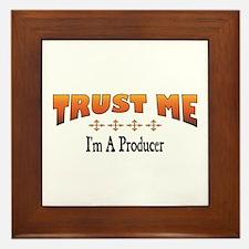 Trust Producer Framed Tile
