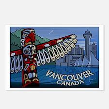 Vancouver Canada Souvenir Postcards Pack of 8