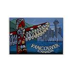 Vancouver Souvenir Art Fridge Magnet 10 pack