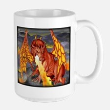 Red Dragon Large Mug