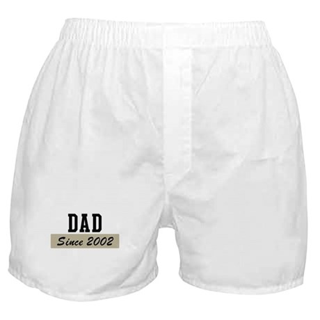 Dad since 2002 (brown) Boxer Shorts