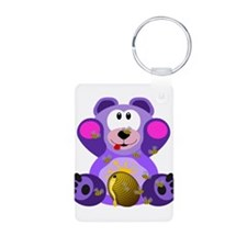 FMS Bear with Honey Bees Keychains