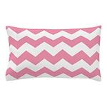 Chevron Zigzag Pink Pillow Case