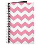 Chevron Zigzag Pink Journal