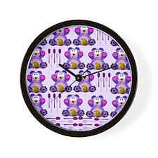 FMS Honey Bear with Spoons Wall Clock