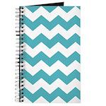 Chevron Zigzag Teal Journal