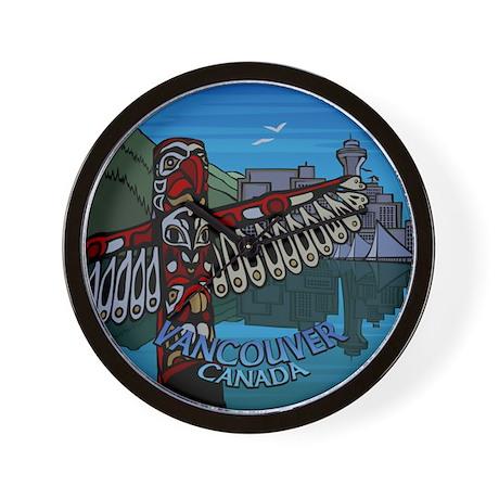 Vancouver BC Souvenir Wall Clock