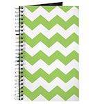 Chevron Zigzag Green Journal