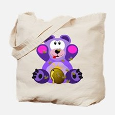 FMS Bear with Honey Bees Tote Bag