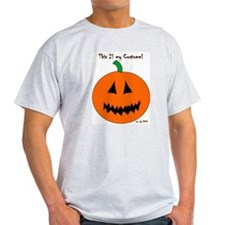 Halloween Costume Ash Grey T-Shirt front & back