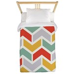 Chevron Tribal Zigzag Twin Duvet