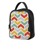 Chevron Tribal Zigzag Neoprene Lunch Bag