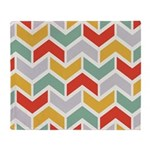 Chevron Tribal Zigzag Throw Blanket