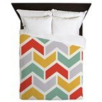 Chevron Tribal Zigzag Queen Duvet
