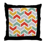 Chevron Tribal Zigzag Throw Pillow