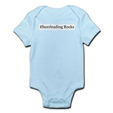 Cheerleading Rocks Infant Bodysuit