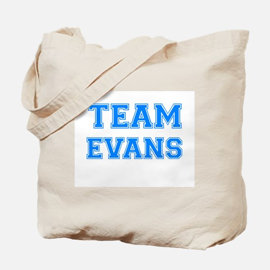 TEAM EVANS Tote Bag