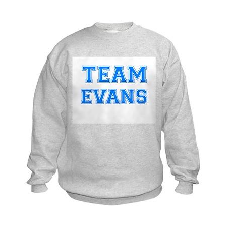 TEAM EVANS Kids Sweatshirt