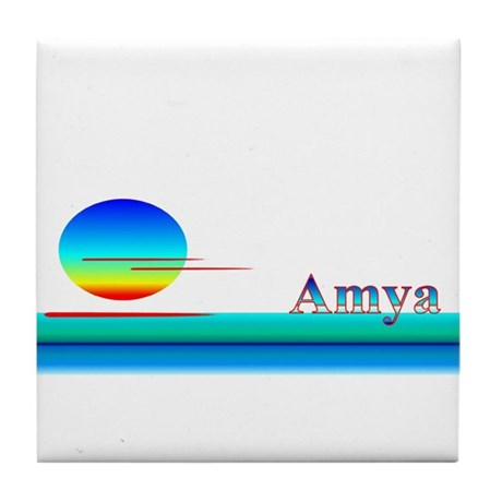 Amya Tile Coaster