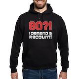80 i demand a recount Hoodie (dark)