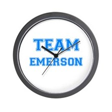 TEAM EMERSON Wall Clock