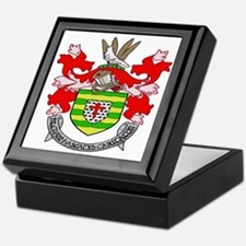 Donegal Coat of Arms Keepsake Box
