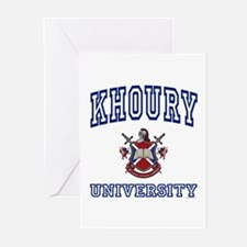 KHOURY University Greeting Cards (Pk of 10)